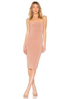 Norma Kamali x REVOLVE Strapless Dress