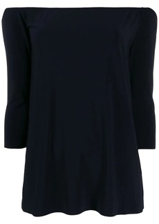 Norma Kamali off-the-shoulder blouse