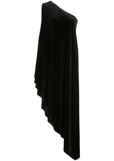 Norma Kamali one-shoulder diagonal tunic dress