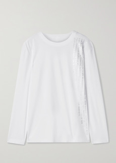 Norma Kamali Printed Jersey Top