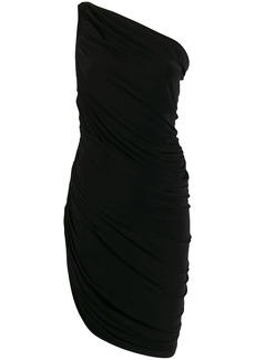 Norma Kamali ruched cocktail dress
