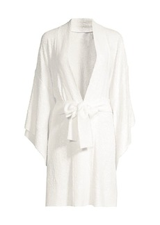 Norma Kamali Sequin Robe Cover-Up