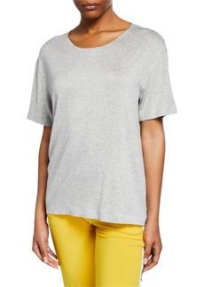Norma Kamali Short-Sleeve Boxy T-Shirt
