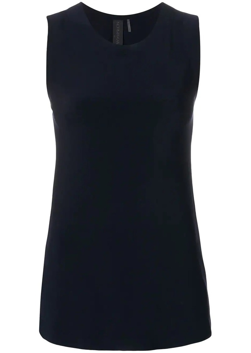 Norma Kamali plain sleeveless top