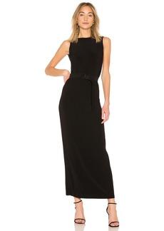 Norma Kamali Sleeveless Low Back Dress