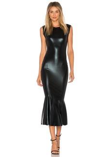 Norma Kamali Sleeveless Midi Dress