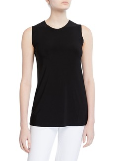 Norma Kamali Sleeveless Swing Top