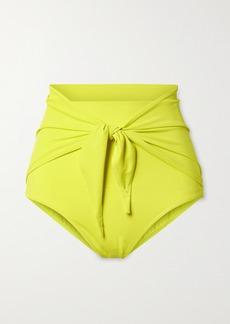 Norma Kamali Tie-front Bikini Briefs