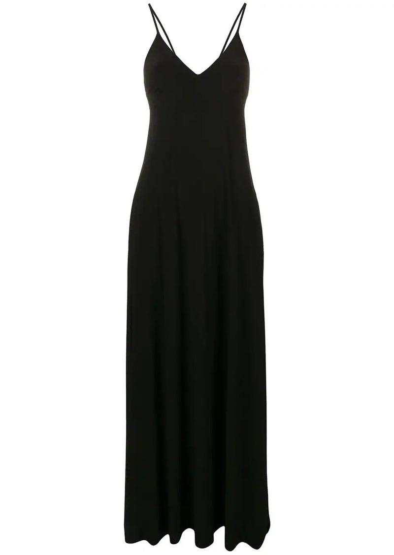 Norma Kamali v-neck maxi dress