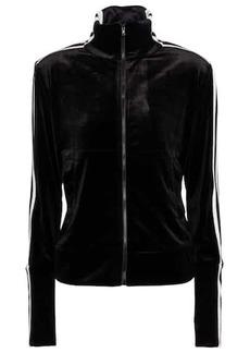 Norma Kamali Velvet track jacket