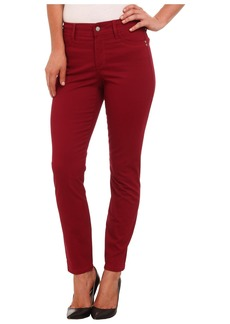 Not Your Daughter's Jeans Adalaine Skinny Ankle Peached Sateen