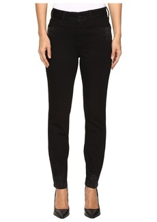 Not Your Daughter's Jeans Alina Ankle Scattered Stone in Black