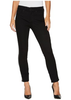 Not Your Daughter's Jeans Alina Ankle w/ Tuxedo Tape in Black Rinse