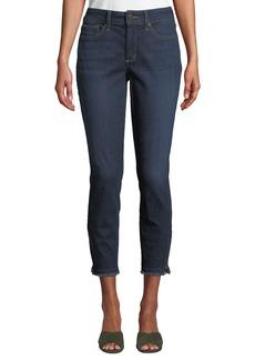 NYDJ Ami Skinny Zip-Cuff Ankle Jeans