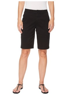 NYDJ Bermuda Shorts Button Waist in Black