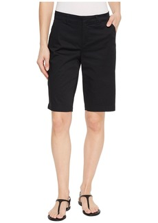 Not Your Daughter's Jeans Bermuda Shorts Hook-and-Bar Waist in Black