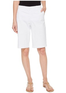 Not Your Daughter's Jeans Bermuda Shorts in Optic White