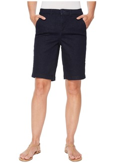 Not Your Daughter's Jeans Bermuda Shorts in Rinse