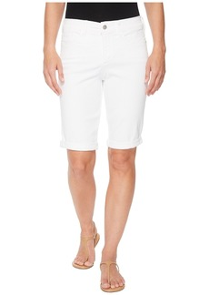 Not Your Daughter's Jeans Briella Roll Cuff Shorts in Optic White