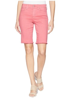 Not Your Daughter's Jeans Briella Shorts w/ Fray Hem in Begonia