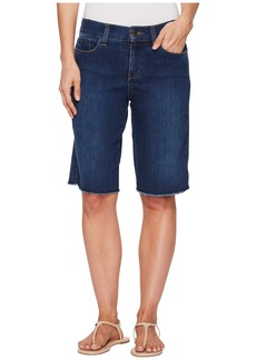 Not Your Daughter's Jeans Briella Shorts w/ Fray Hem in Cooper