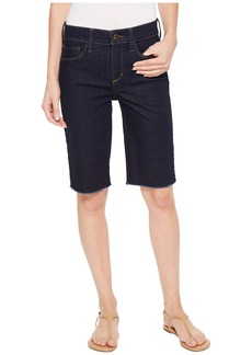 Not Your Daughter's Jeans Briella Shorts w/ Fray Hem in Rinse