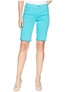 Not Your Daughter's Jeans Briella Shorts w/ Fray Hem in Water