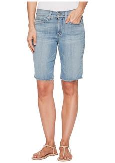 NYDJ Briella Shorts w/ Fray Hem in Westland