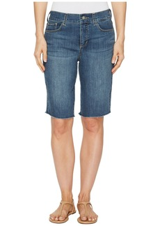 Not Your Daughter's Jeans Briella Shorts w/ Fray Hem in Zimbali
