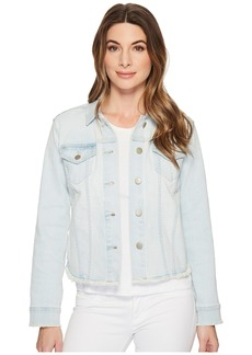 NYDJ Denim Jacket w/ Fray Hem in Palm Desert