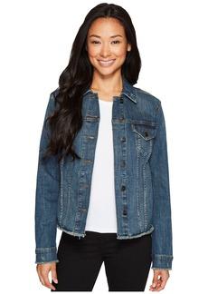 Not Your Daughter's Jeans Denim Jacket w/ Frayed Hem