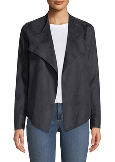 Not Your Daughter's Jeans Drapey Faux-Suede Jacket