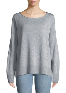 Not Your Daughter's Jeans Drop-Shoulder Pullover Sweater