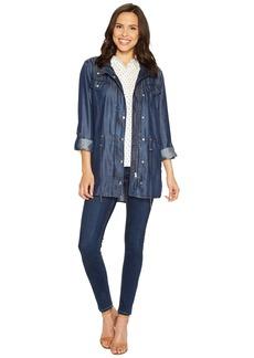 Not Your Daughter's Jeans Indigo Tencel Anorak Jacket