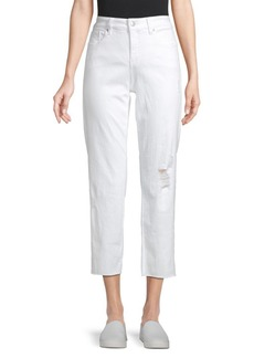 Not Your Daughter's Jeans Jenna Distressed Straight Ankle Pants