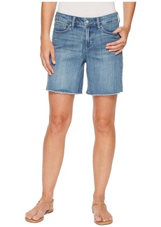Not Your Daughter's Jeans Jenna Shorts Fray in Maxwell