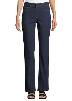 Not Your Daughter's Jeans Marilyn Mid-Rise Straight-Leg Jeans 16""