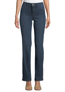Not Your Daughter's Jeans Marilyn Mid-Rise Straight-Leg Jeans