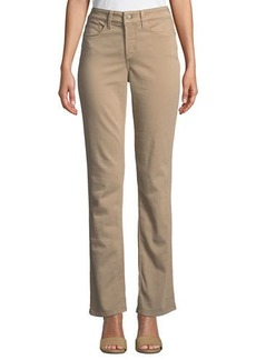 Not Your Daughter's Jeans Marilyn Mid-Rise Straight-Leg Pants