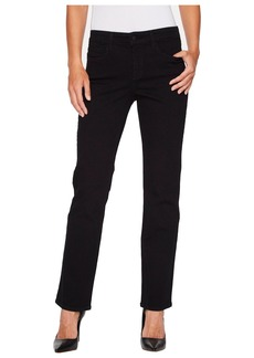 Not Your Daughter's Jeans Marilyn Straight - Short Inseam in Black