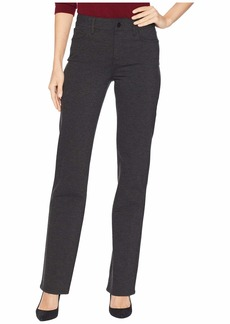 NYDJ Marilyn Straight in Charcoal Heathered