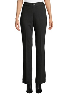 NYDJ Michelle Mid-Rise Straight-Leg Trousers