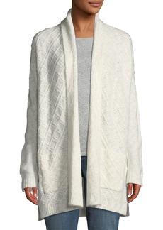 NYDJ Novelty Knit Cardigan Sweater