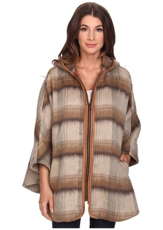 NYDJ Abbey Road Plaid Cape