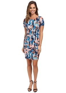 NYDJ Abby Vivid Pillar Shift Dress