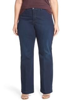 Not Your Daughter's Jeans NYDJ 'Addison' Stretch Wide Leg Jeans (Verdun) (Plus Size)