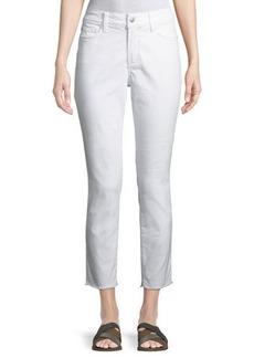 NYDJ Alina Cropped Jeans w/ Frayed Hem