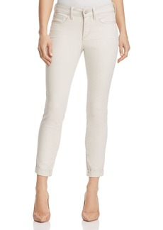 Not Your Daughter's Jeans NYDJ Alina Cuffed Legging Ankle Jeans in Clay