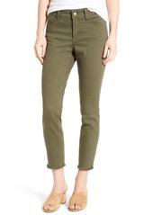 NYDJ Alina Frayed Stretch Twill Ankle Pants (Regular & Petite)