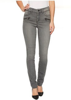 NYDJ Alina Legging Jeans w/ Zippers in Future Fit Denim in Alchemy